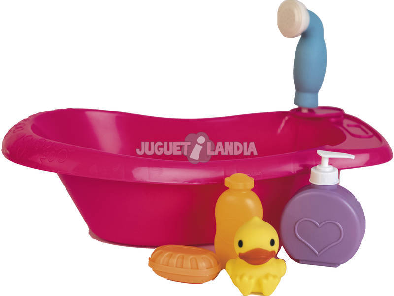 Vasca da Bagno con Accessori per bebè