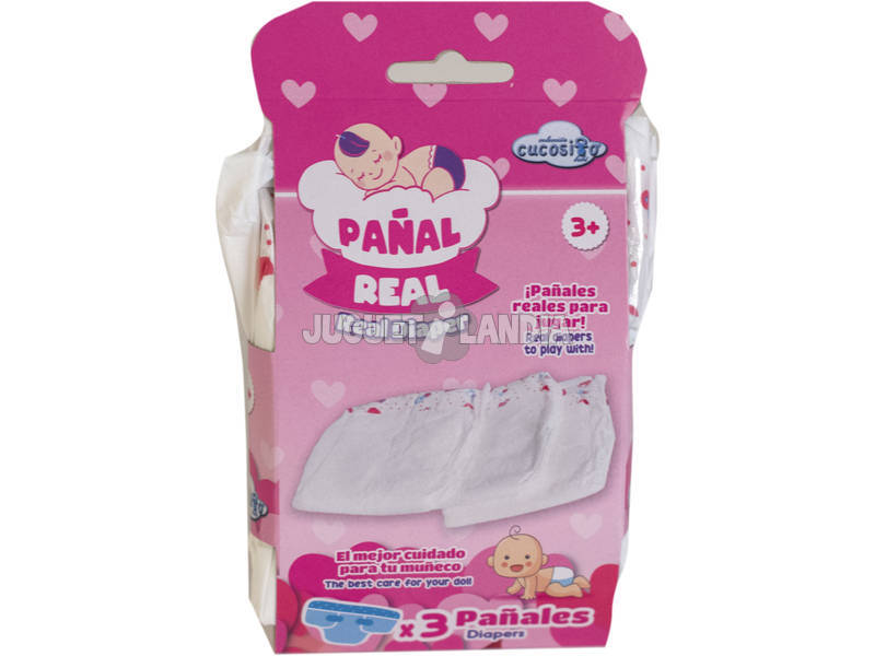 Pañales Pack 3 Unidades