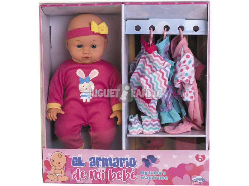 Bebè 35 cm L'armadio del mio Bebè con Accessori