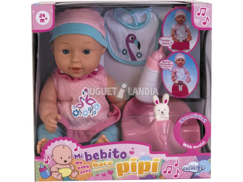 Bebè 30 cm La mia bambola fa pipì con Vasino e accessori