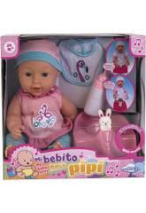 Baby 30 cm Mein Baby Macht Pipi Mit Töpfchen Und Zubehör