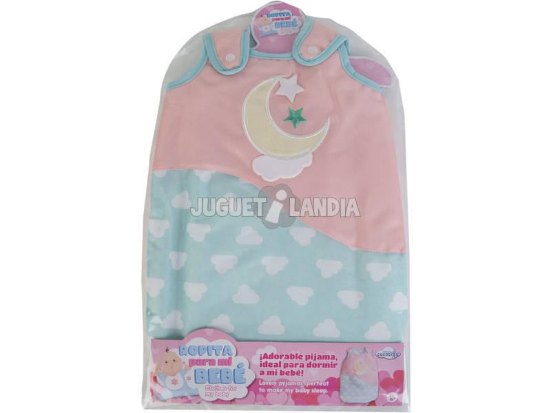 Pijama Muñeca Bebé Luna y Estrellas