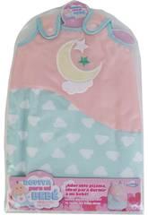 imagen Pijama Muñeca Bebé Luna y Estrellas