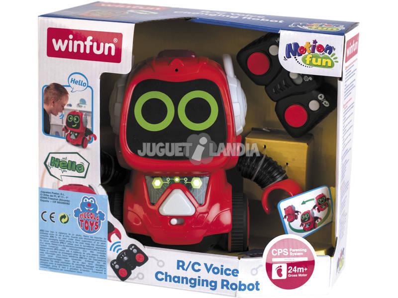 Radio Control Robot Infantil Inteligente con Sonidos