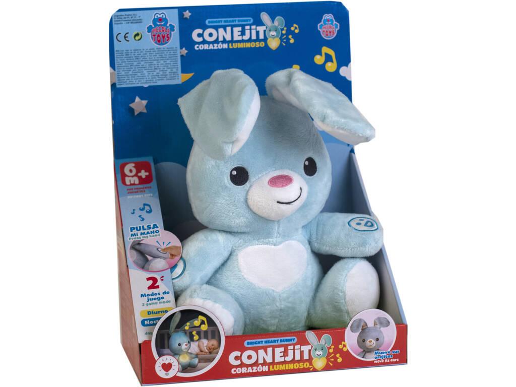 Peluche Conejo Luminoso