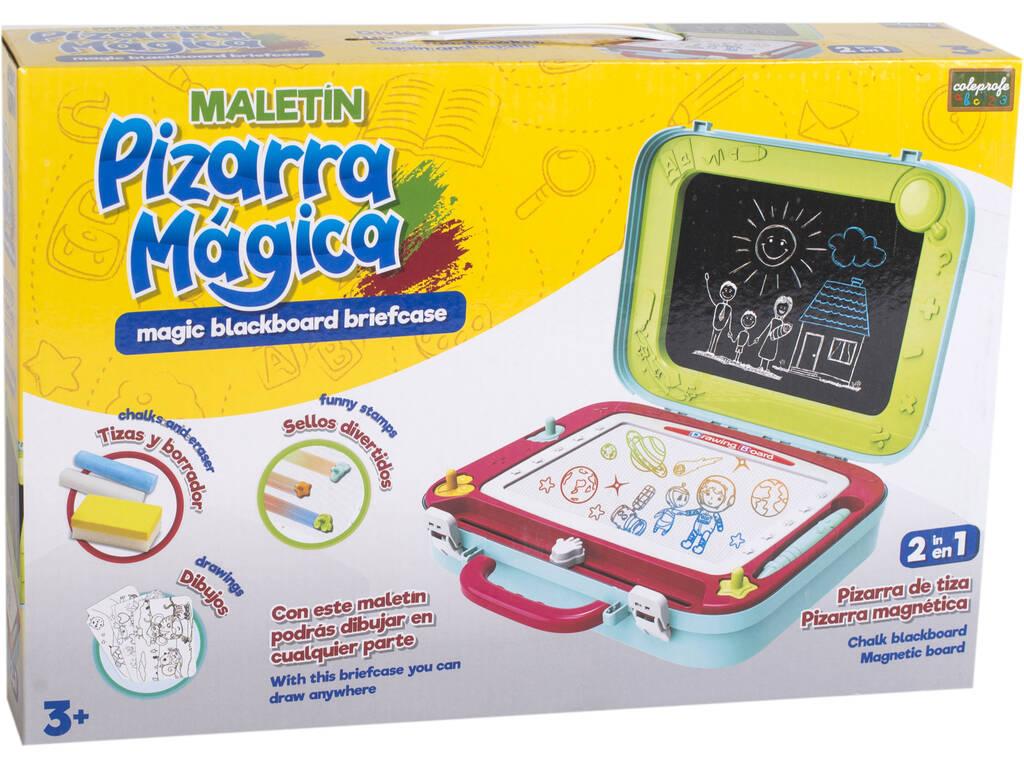 Maletín Pizarra Mágica 2 en 1 con Accesorios