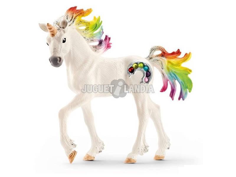 Puledro di Unicorno Arcobaleno Schleich 70525