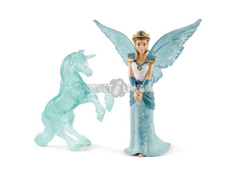 Bayala Eyela con Escultura de Hielo de Unicornio Schleich 70587