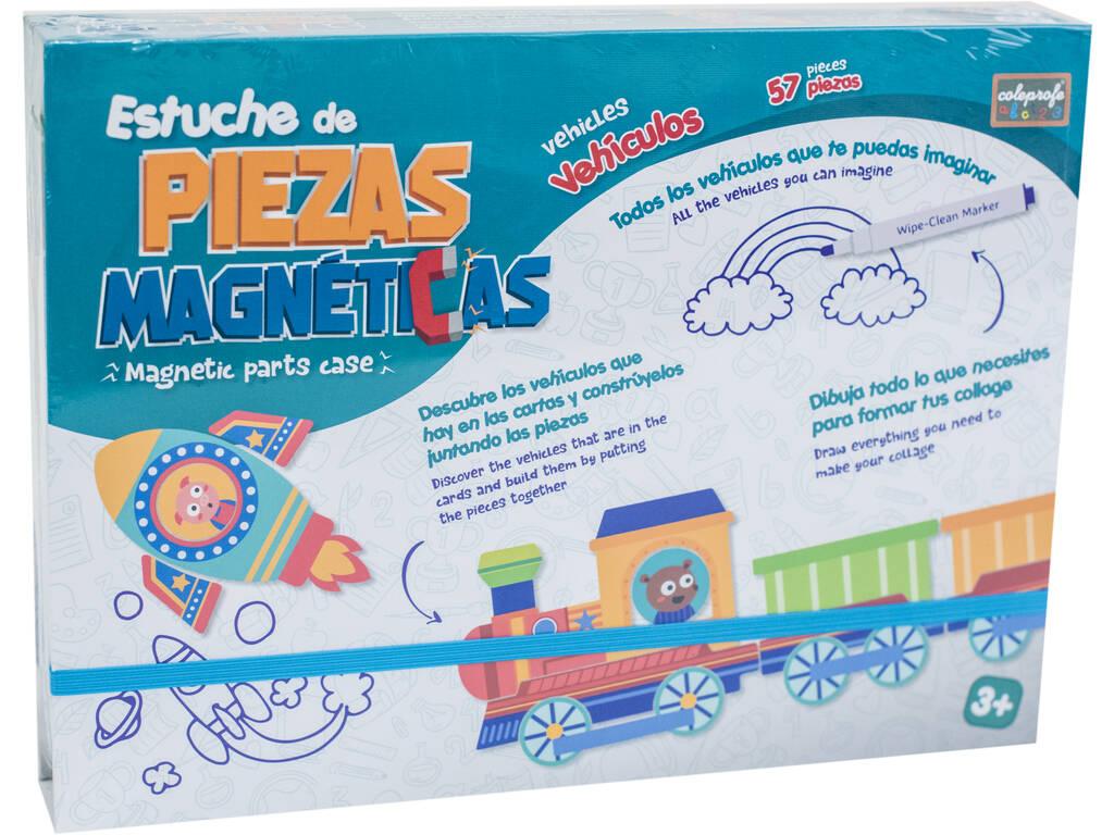 Art Magnétique Mallette Véhicules