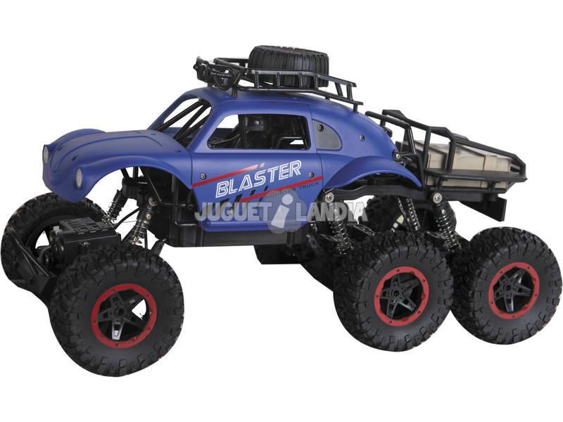 Radio Control 1:12 High Crawler Blaster 6 Ruedas Teledirigido