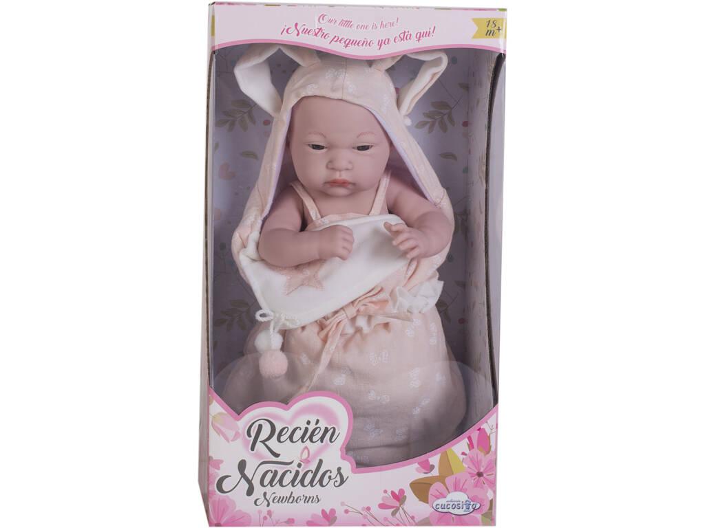 Bebè 30 cm Rosa con Sacco Nanna