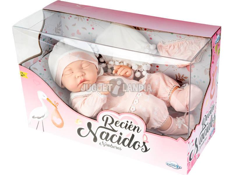 Bebè 38 cm con Vestitini Rosa