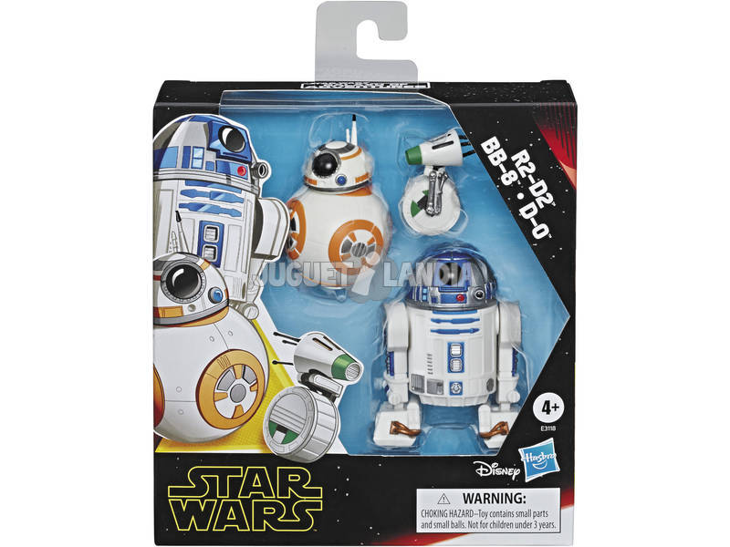Star Wars Episodio 9 Pack Deluxe Droides Hasbro E3118