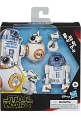 Star Wars Episodio 9 Pack Deluxe Droides Hasbro E3118
