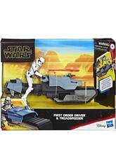Star Wars Episodio 9 First Order Drive con Treadspeeder Hasbro E3030