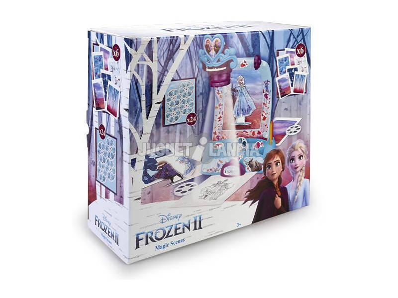 Proyector Magic Scenes Frozen 2 Famosa 700015386