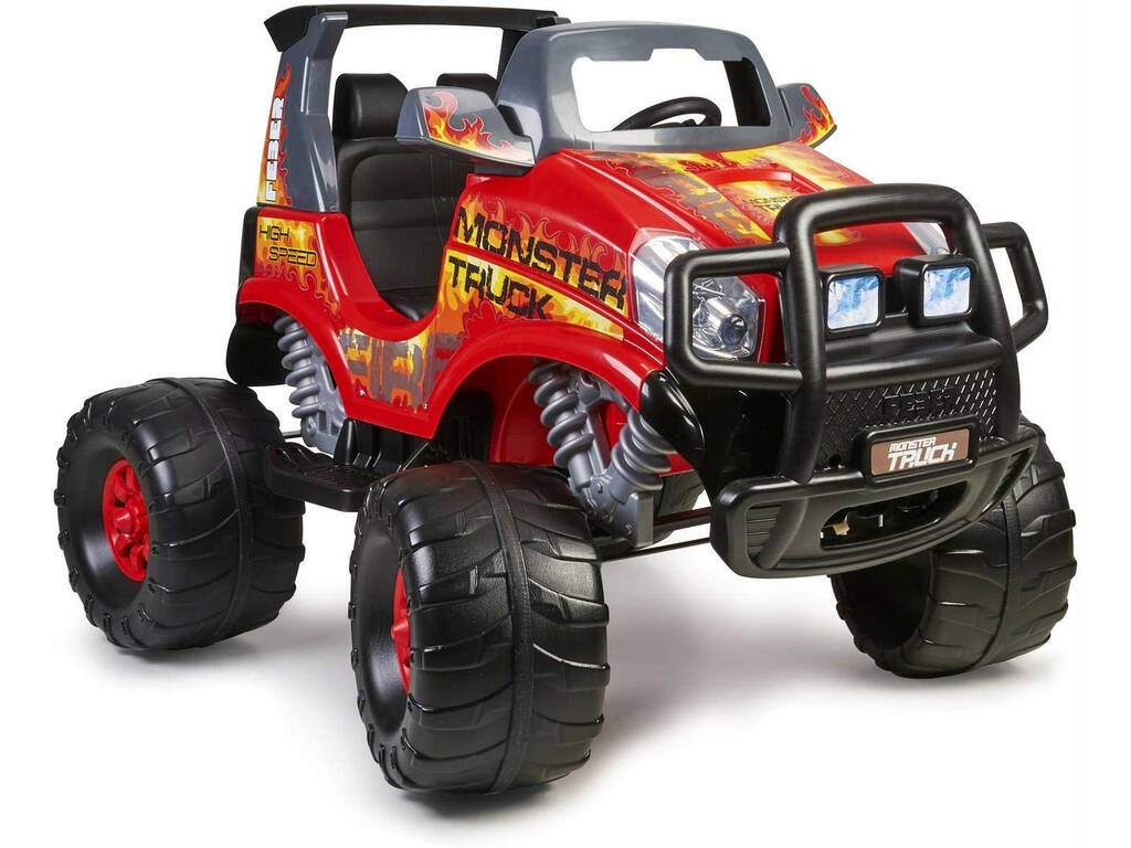 Voiture Feber Monster Truck 2 Places 12v.Famosa 800012464