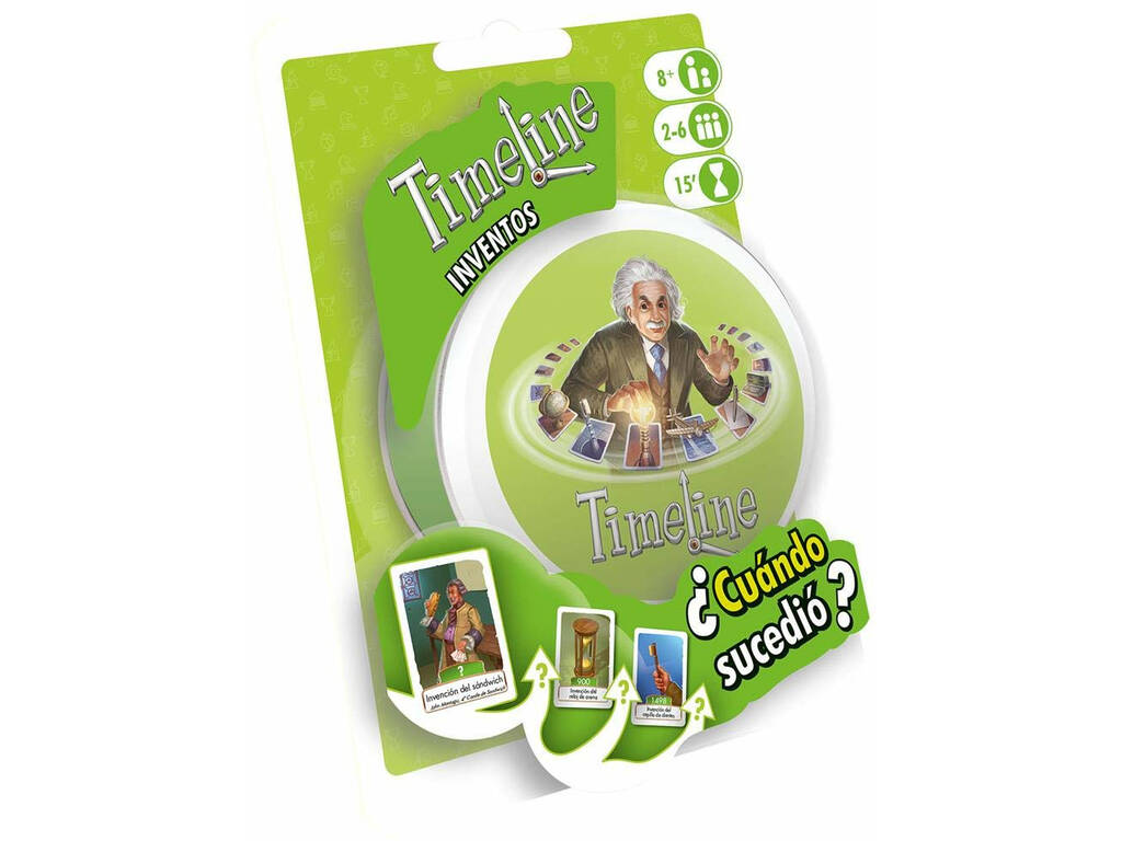 Timeline Blister Inventi Asmodee TIMEBL01ES