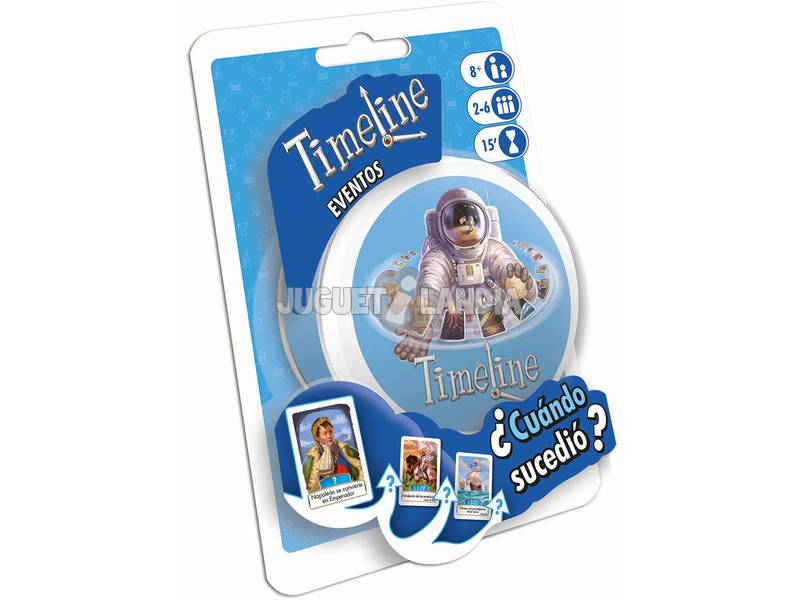 Timeline Blister Inventions Asmodee TIMEBL02ES
