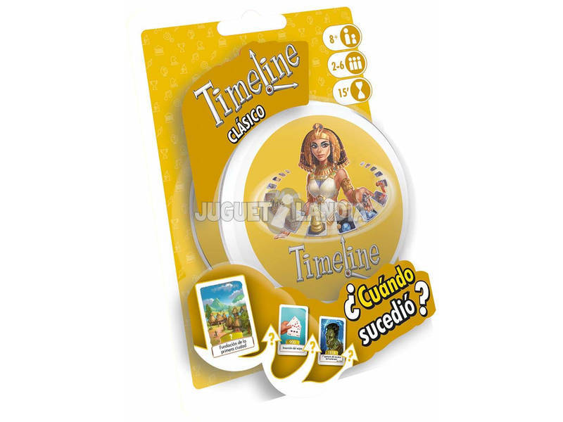 Timeline Blister Classico Asmodee TIMEBL03ES