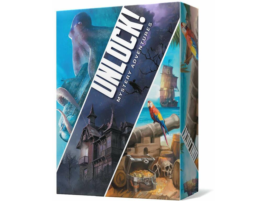 Unlock! Mistery Adventures Asmodee SCUN003