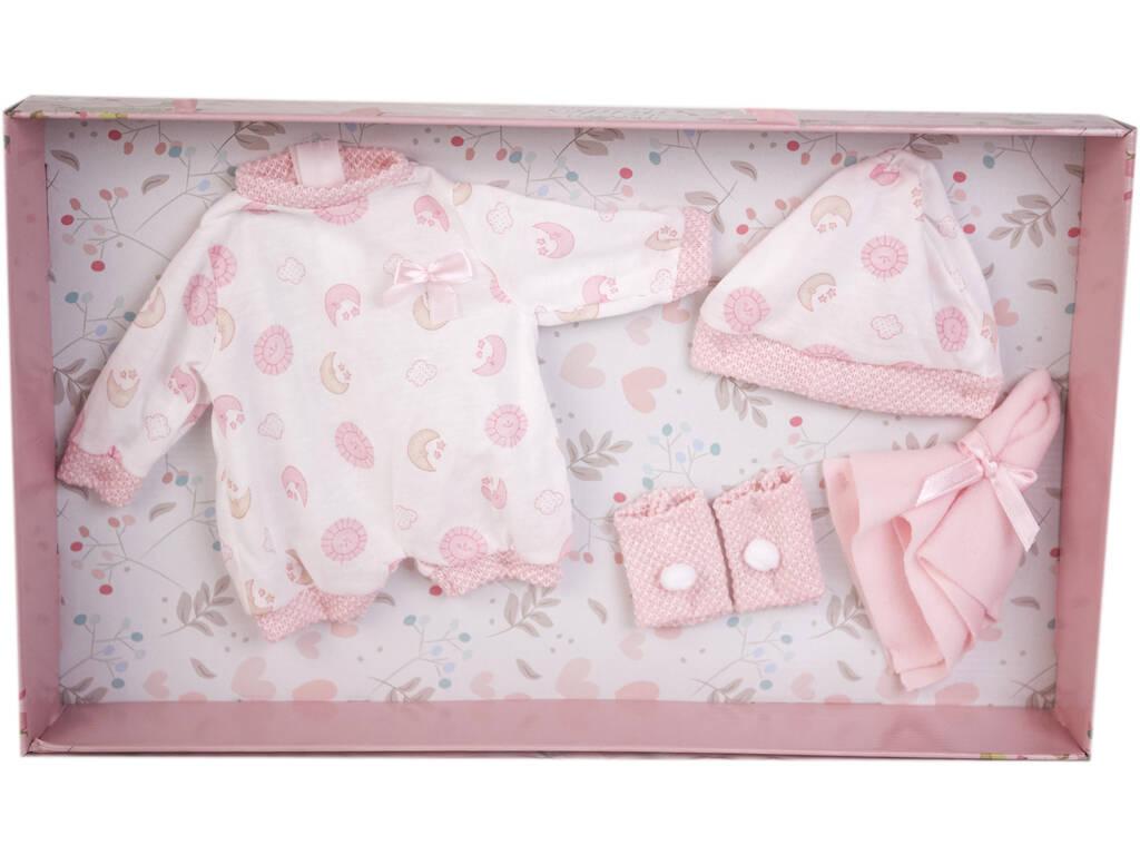 Traje Bebé Estampado Lunas 38-42 cm