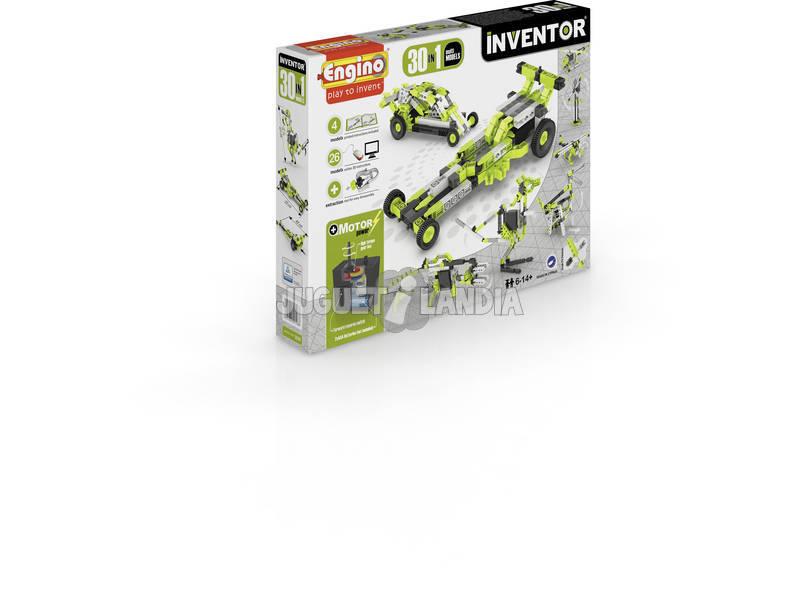 Set Construcción Inventor 30 en 1 Multimodelos Motorizados Engino 3030