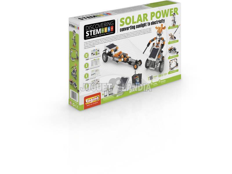 Set Construcción STEM Energía Solar Engino STEM30