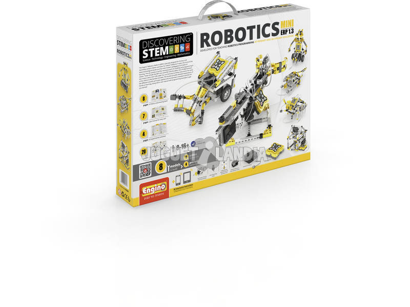 Set Construcción STEM Robotics ERP Mini Engino STEM60