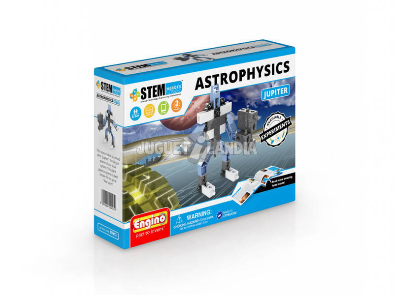 Set Costruzione STEM Eroi Astrophisics Giove Engino STH13