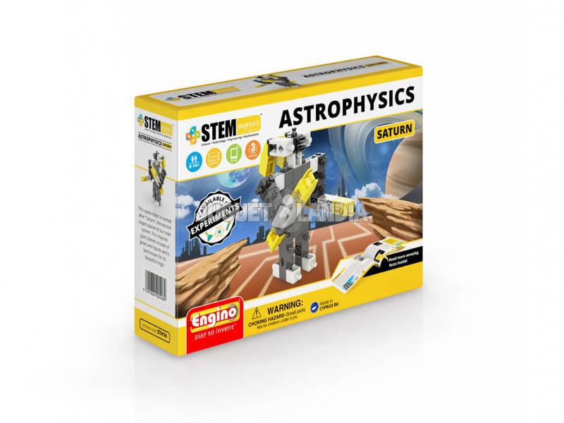 Set Construcción STEM Héroes Astrophisics Saturno Engino STH14