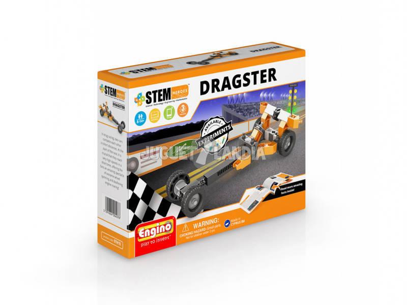 Set Construcción STEM Héroes Dragster Engino STH15