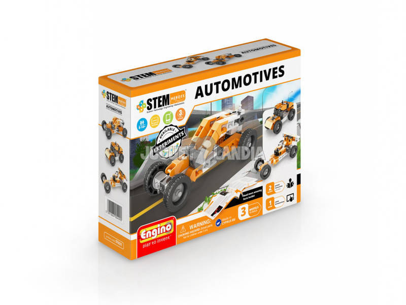 Set Construcción STEM Héroes Automotives Engino STH21