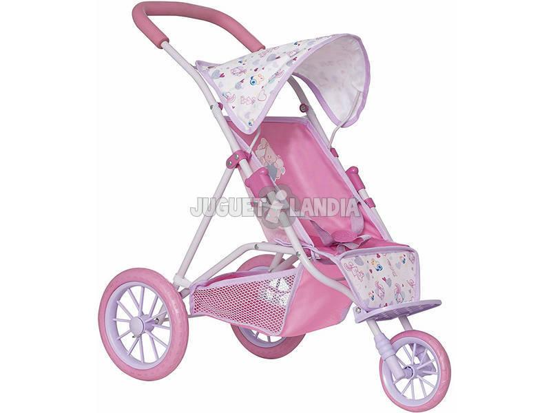 Passeggino Bambola 3 Ruote Baby Born HTI 1423565
