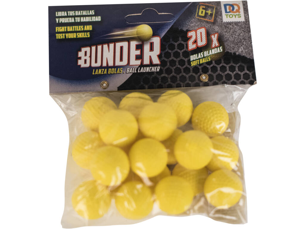 Bolas Bunder 2.2 cm. Para Lanzabolas 20 Unidades