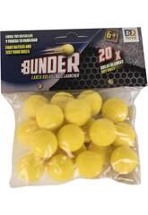 Bolas Bunder 2.2 cm. Para Lançabolas 20 Unidades