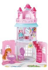 Castello Principesse con Bambola 12 cm e Accessori