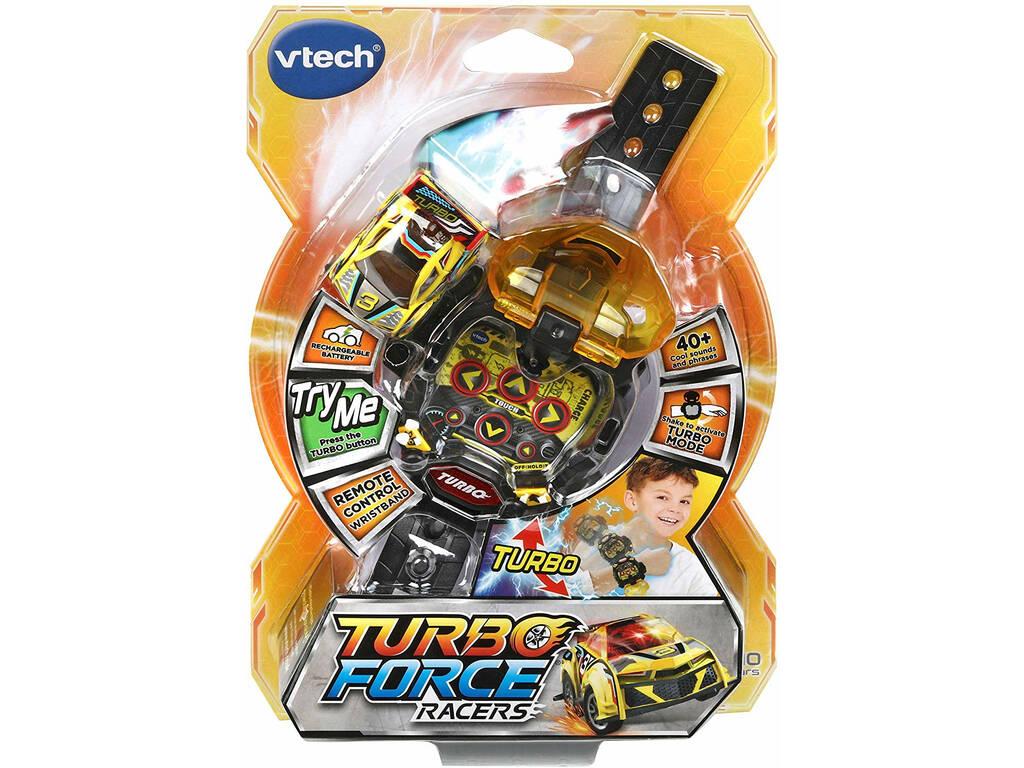 Turbo Force Racers Amarillo Vtech 197622