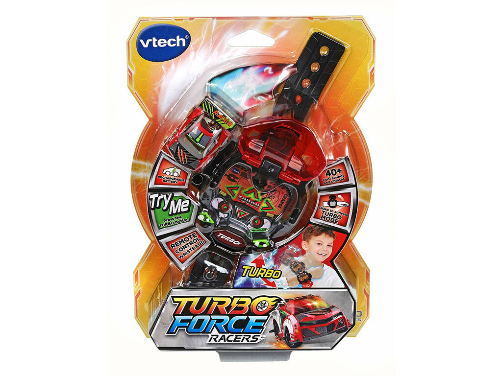 Turbo Force Racers Rosso Vtech 198222