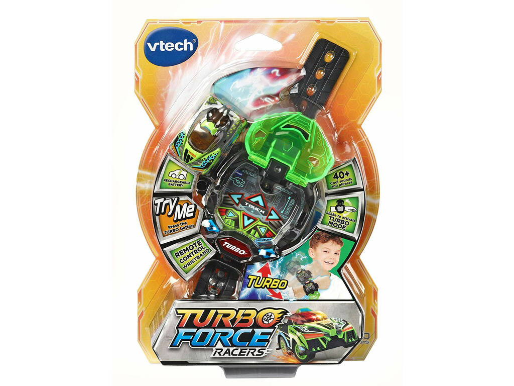 Turbo Force Racers Verde Vtech 198322