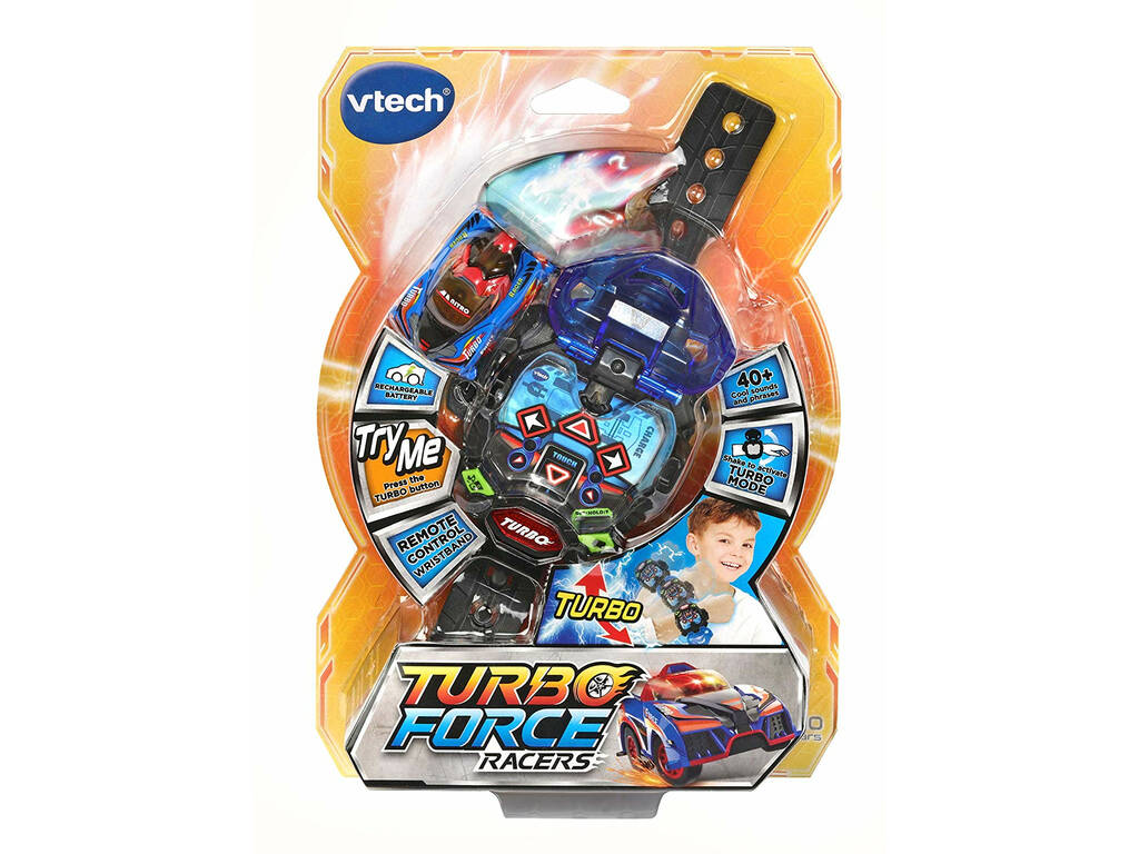 Turbo Force Racers Bleu Vtech 198422
