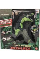 Dinosaurio 39 cm. Expulsa Vapor y Pone Huevos