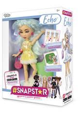 Muñeca Snapstar Echo Diset 407246