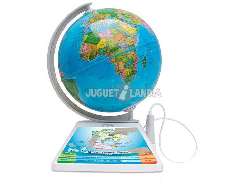 Mappemonde Interactive Oregon Scientific Adventurer Diset 505044