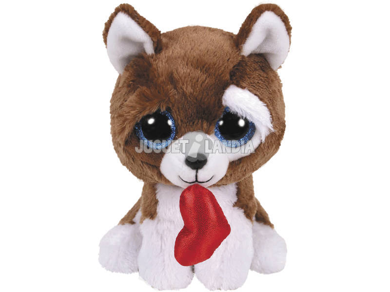 Peluche Chien Coeur 23 cm. TY 36989TY