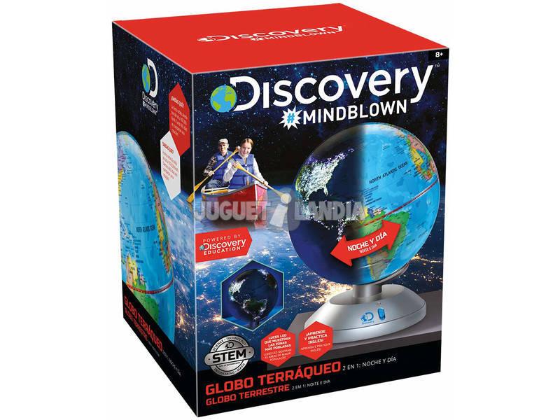 Globo Terráqueo Discovery 2 En 1 World Brands 6000188