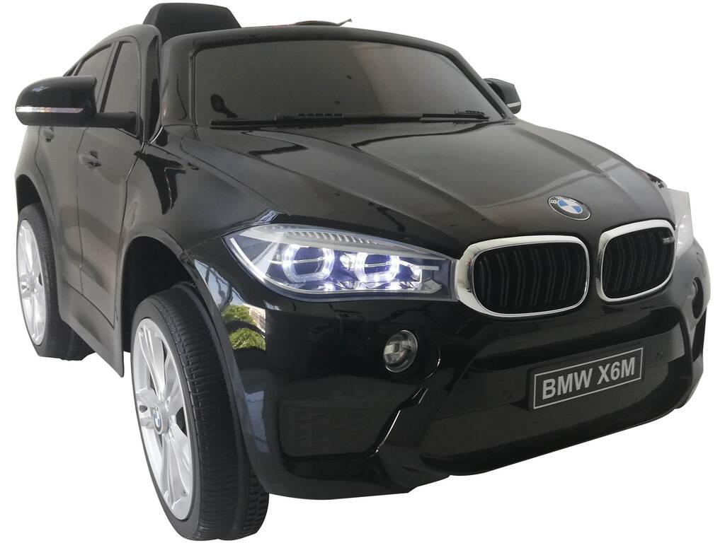 Coche Bateria BMW X6M Radio Control 6 v.