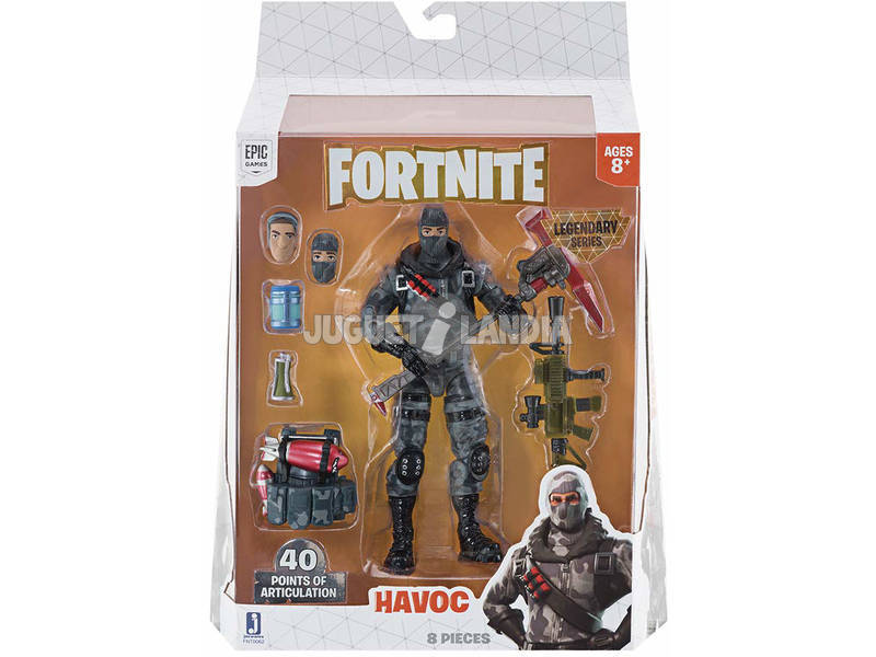 Fortnite Figura Hero Havoc Toy Partner FNT0062