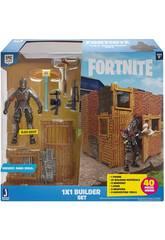 Fortnite Builder Conjunto Figura Black Knight Toy Partner FNT0048