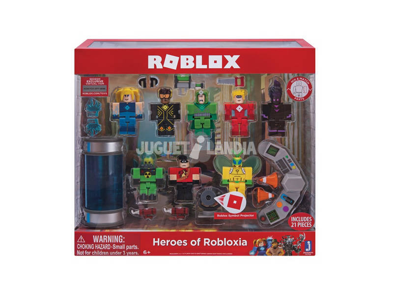 Roblox Heroes Of Robloxia Toy Partner ROB0180